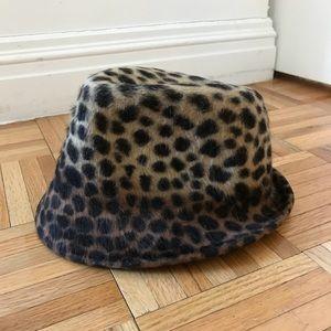 Albertus Swanepoel for J. Crew Leopard Fedora
